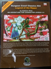 Dungeon Crawl Classics #24: Legend of the Ripper
