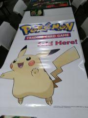 Pokemon Sold Here Pikachu Vinyl