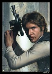 SW Han Solo: Deck Protectors: 50 Count:Fantasy Flight: SWS17
