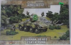 German SD.KFZ 234/X Puma: 452410207