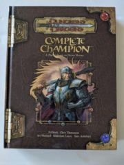 Complete Champion: A Player's Guide to Divine Heroes