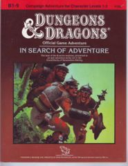 In Search of Adventure: Official Game Adventure (Variant 1)