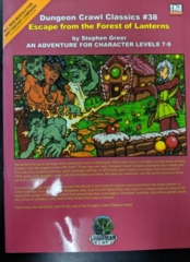 Dungeon Crawl Classics #38: Escape from the Forest of Lanterns