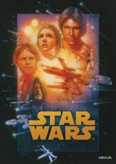 SW A New Hope: Deck Protectors: 50 Count:Fantasy Flight: SWS07