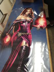 MTG Liliana of the Veil Window Cling (43