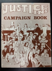 Hero Games: Justice Inc.:Campaign Book