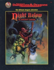 Night Below: An Underdark Campaign 1125 (Variant 1)