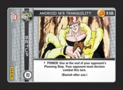 Android 16's Tranquility - R105 - Foil