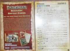 Tarrasque: Bestiary Battle Card: Game Trade Magazine Promo