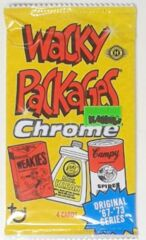Wacky Packages: Chrome: Original '67-73 Series*: Booster Pack: Stickered