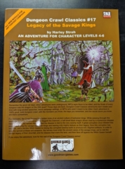 Dungeon Crawl Classics #17: Legacy of the Savage Kings