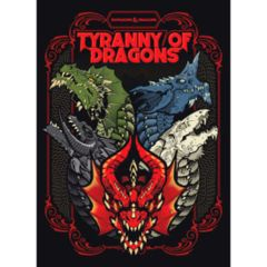 Tyranny of Dragons: 5E: Alternate Limited Cover