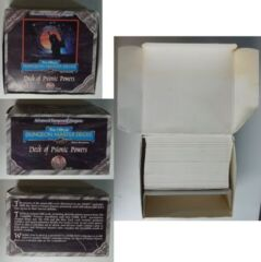 Deck of Psionic Powers: Used: TSR 9458