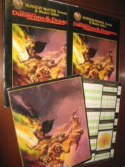 Dungeon Master's Screen & Master Index