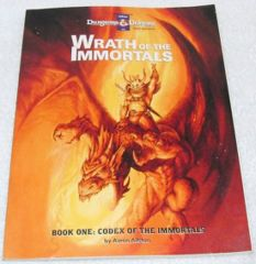 Wrath of the Immortals: Book One: Codex of the Immortals