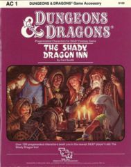 The Shady Dragon Inn: Pre-Generated Characters