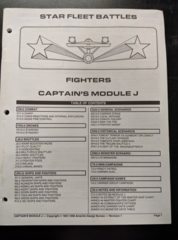 Captain's Module J: Fighters: Rulebook