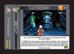 Black Discovery - R116 - Foil