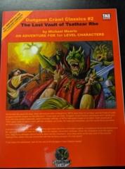Dungeon Crawl Classics #2: The Lost Vault of Tsathzar Rho