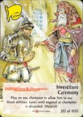 20/100 Investiture Ceremony