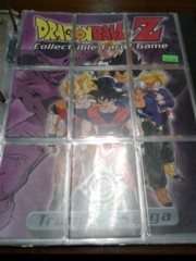 DBZ Trunks Saga Advertisement 9 Card Puzzle Set