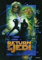 SW Return of the Jedi: Deck Protectors: 50 Count:Fantasy Flight: SWS09