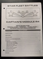 Captain's Module R4: Rulebook