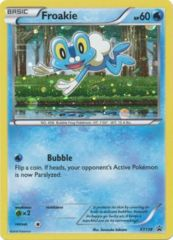 Froakie - XY138 - Fates Collide Three Pack Blister Promo