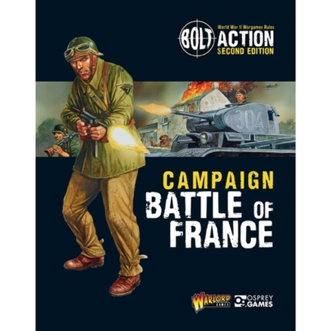 Campaign Battle of France: Second Edition: Softcover