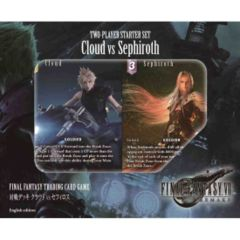 Cloud VS. Sephiroth: 2-Player Starter Set: Final Fantasy VII (7) Remake (In-Store Pre-Order Only)($19.99 Cash/ $24.99 Store Cred