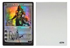 Gideon, Battle-Forged: V0019: Artist Proof: Autograph/Signature: William Murai: Black