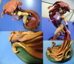 Medusa: Inhumans: Painted Statue: Mark Newman (Repaired Damaged)