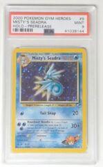 V0014: 2000 Misty's Seadra - 9/132 - Prerelease Promo: PSA Graded: 9: NM: 41038144