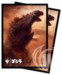 Magic: The Gathering Ikoria: Lair of Behemoths Deck Protector Sleeve Godzilla, Doom Inevitable