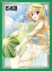 Character Sleeve Collection Z/X -Zillions of enemy X- [Budding Basil at Midsummer] (60 Card Sleeve)