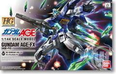 HG 1/144 Gundam AGE-FX Plastic Model