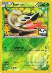 Shelmet - 8/111 - Pokemon League Promo Crosshatch Holo 4TH PLACE
