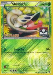 Shelmet - 8/111 - Pokemon League Promo Crosshatch Holo 3RD PLACE