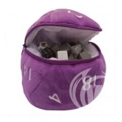 Ultra Pro Plush D20 Dice Bag Purple
