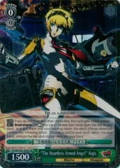 The Heartless Armed Angel Aigis - P4/EN-S01-024S - SR