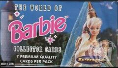 THE WORLD OF BARBIE COLLECTOR CARDS