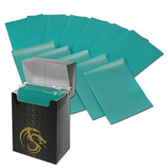 BCW Deck Guards Double Matte (80 ct.) - Teal