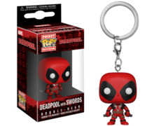 Pocket Pop! Keychain - Deadpool (with swords)