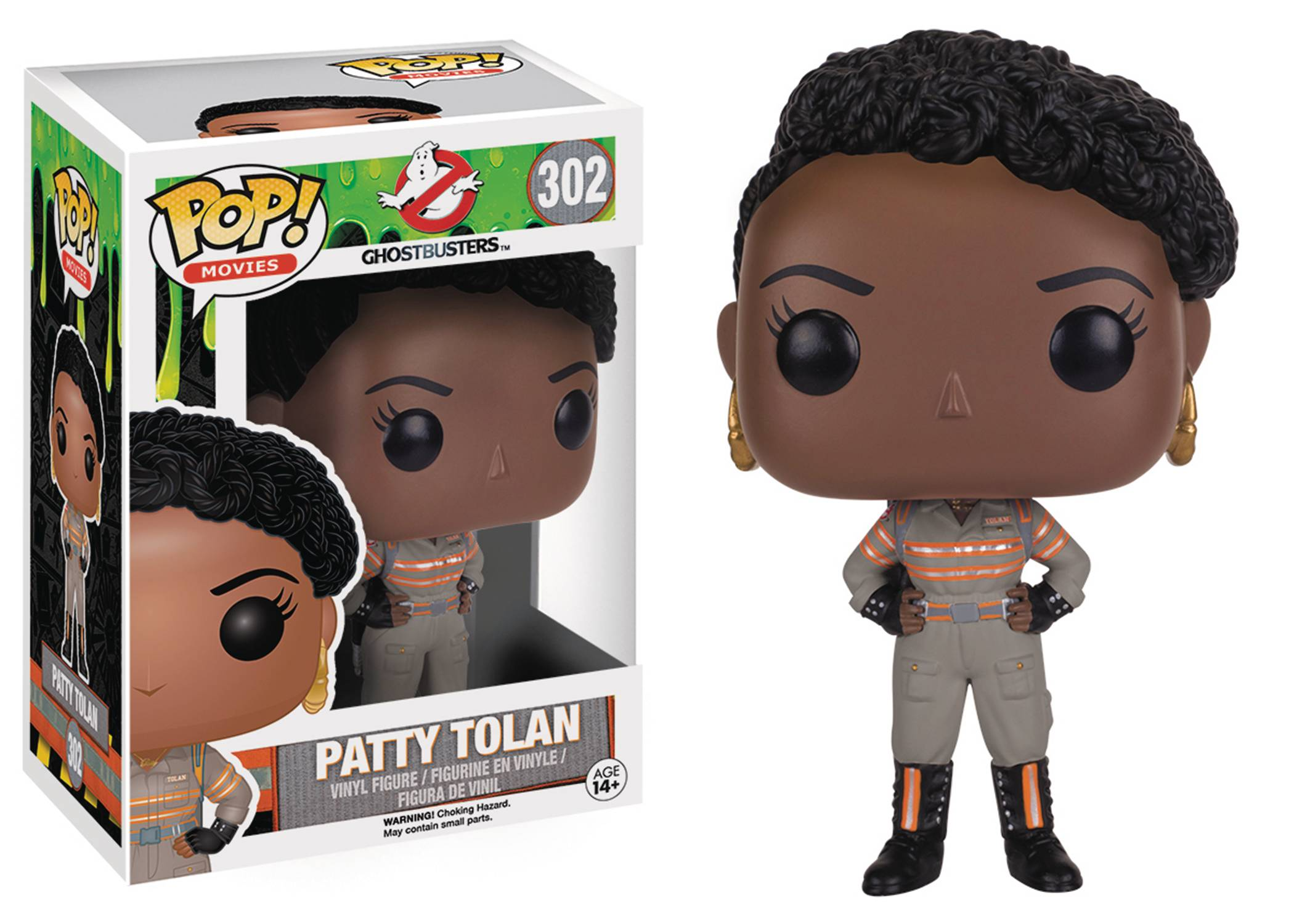 POP Ghostbusters 2016 Patty Tolan Vinyl Fig