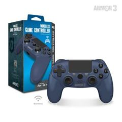 Wireless Game Controller for PS4/ PC/ Mac (Twilight Blue) - Armor3