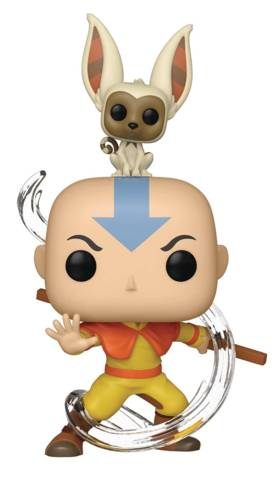 POP & Buddy Avatar Aang w/ Momo Vinyl Figure (C: 1-1-2)