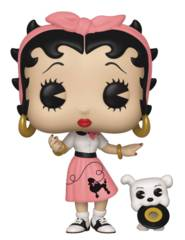 POP Animation Sock Hop Betty Boop Pudgy Vinyl Figure (C: 1-1-2)