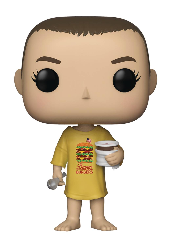 POP TV Stranger Things Eleven Burger T-Shirt Vinyl Figure (C: 1-1-2)