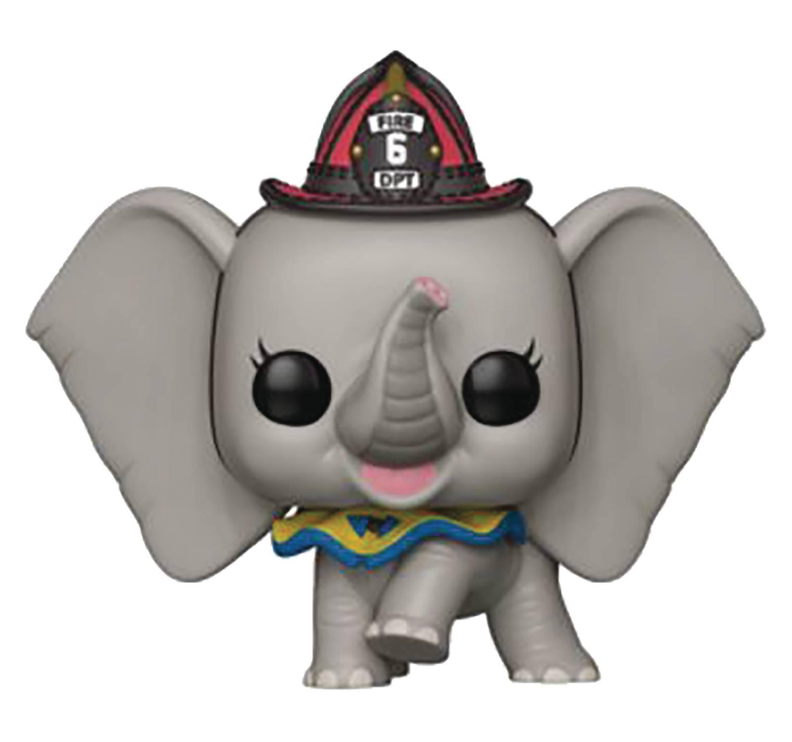 POP Disney Dumbo Fireman Dumbo Vinyl Figure (C: 1-1-2)