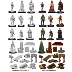 Nolzur's Marvelous Miniatures - Castle: Royal Court (Wave 12)